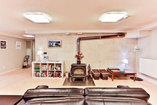 Apartamentos Mundaka: Salón Social