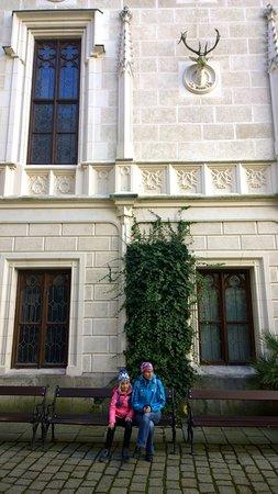 Богемия, Чехия: перед входом в замок