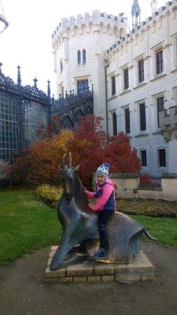 Богемия, Чехия: верхом на козле