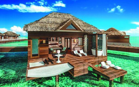 Over The Water Bungalow Picture Of Sandals Royal