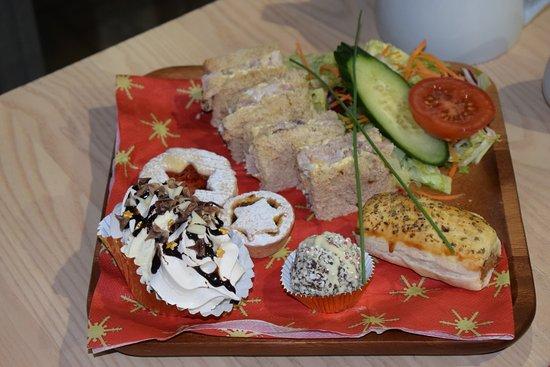 Dunbar Garden Centre Restaurant: Festive afternoon tea