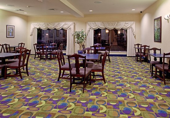 Holiday Inn Express Houston Bush Intercontinental Airport East: Humble Bush Airport Breakfast Area