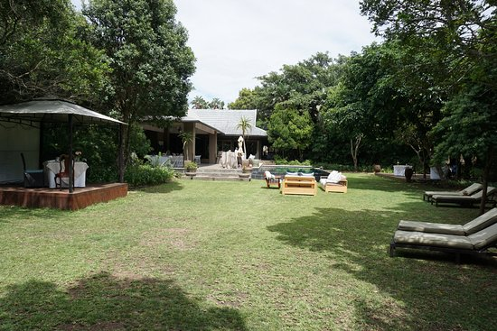 Chintsa, Sudáfrica: Prana Lodge - garden area