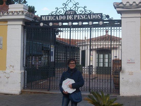 Mahon, Spain: Entrada principal al mercado
