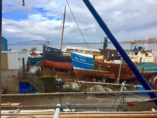Boat yard, Crinan