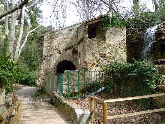Gemenos, France: Une autres battisse du parc, je suppose que cela devait être un moulin