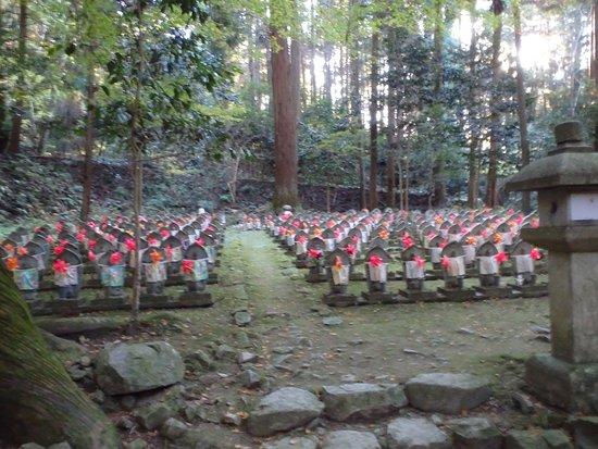 Aisho-cho, Japonya: 千体地蔵尊像