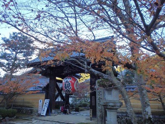 Aisho-cho, Japonya: 黒門と紅葉
