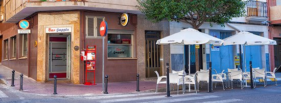 Yecla, Spain: Local del Bar Gaggia