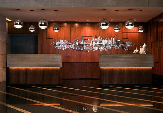 Renaissance São Paulo Hotel: Reception Area