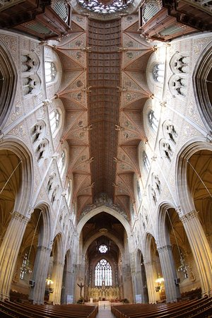 Armagh, UK: Fisheye view of the stunning architecture