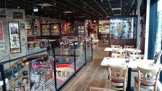 Herlev, Dinamarca: Upper floor seats