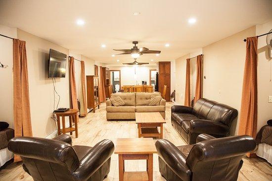Grayling, ميتشجان: Loft Living Area