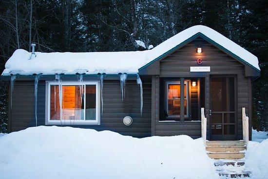 Grayling, ميتشجان: Cabin Exterior