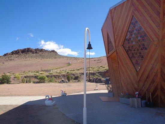 Plaza San Martin: Santuario CEFERINO NAMUNCURA - Estancia San Ignacio - Junín de los Andes.