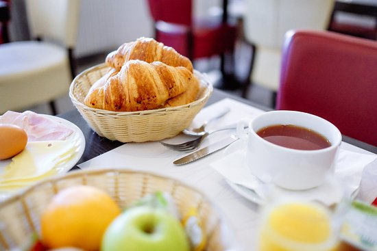 Villefranche-de-Lauragais, Francia: Petit déjeuner
