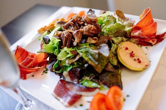 Villefranche-de-Lauragais, Francia: Salade Landaise