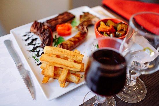 Hotel Restaurant du Lauragais : Assiette du Boucher