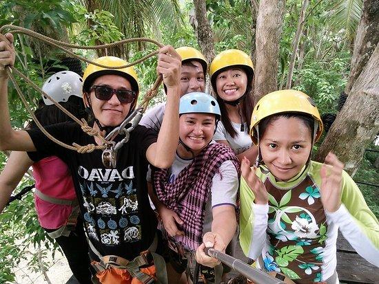 Davao City, Filipinas: at the canopy walkk