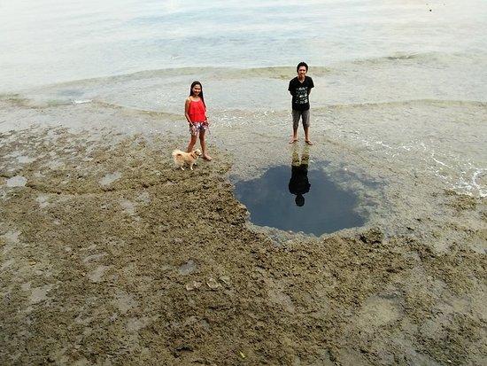 Davao City, Filipinas: sea hole