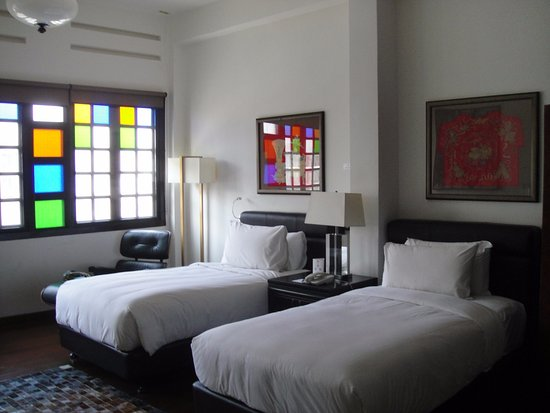 Hotel Penaga: Twin room