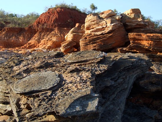Broome Hovercraft Dinosaur Footprints