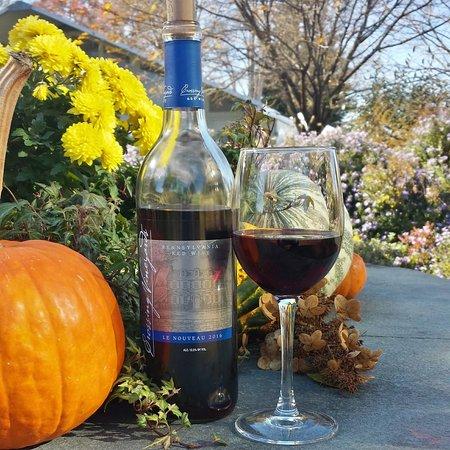 Washington Crossing, PA: Crossing Vineyards and Winery