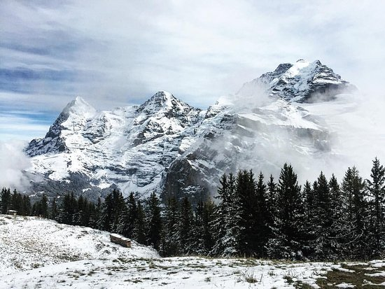 Murren, Ελβετία: The 3 famous summits