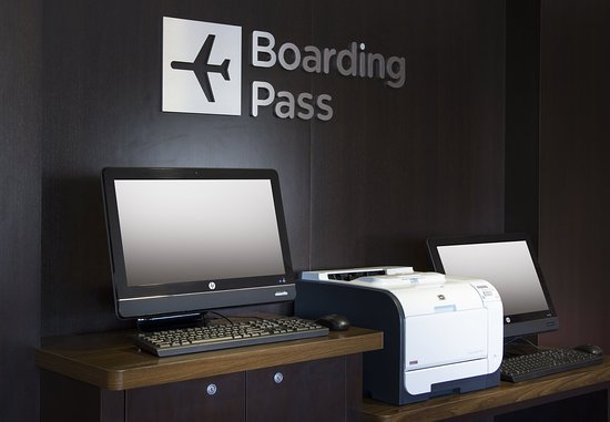Folsom, Kalifornien: Boarding Pass Print Station