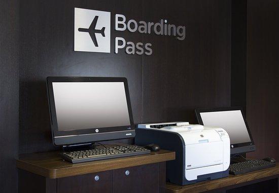 Folsom, CA: Boarding Pass Print Station