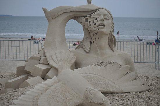 Revere, MA: sand sculpture