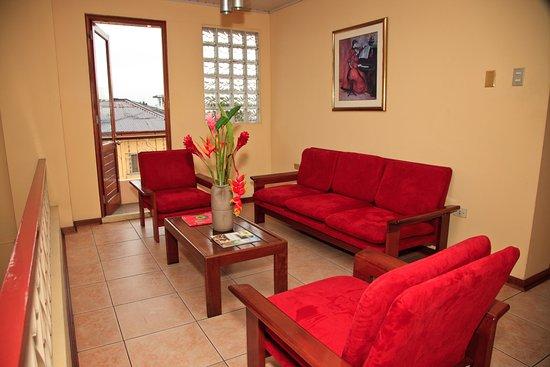 Hotel Acosta: Sala de estar 3 piso