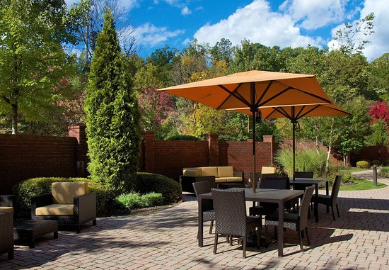 ‪‪Blacksburg‬, فيرجينيا: Outdoor Patio‬
