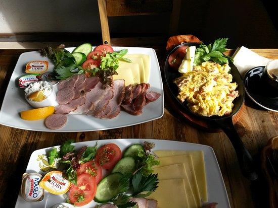 Pomorskie, Polska: Śniadanie