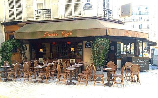 louise caf paris louvre palais royal restaurant avis. Black Bedroom Furniture Sets. Home Design Ideas
