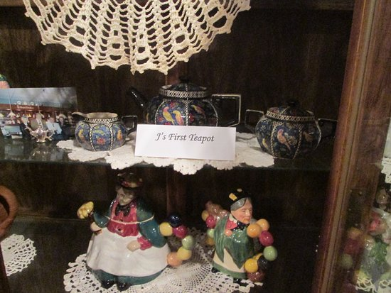 Teapot museum: The first teapot he collected