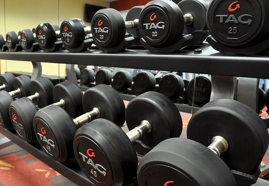 Wausau, Ουισκόνσιν: Fitness Center - Free Weights