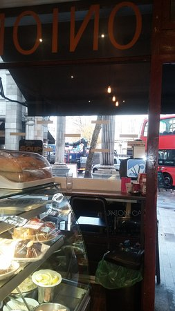 Onion Cafe: from inside