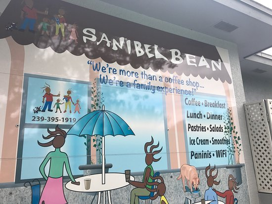 Sanibel Bean : What a KEWEL find  after a 20 ml bike ride on Thanksgiving morning. Great Chai Latte and bacon e
