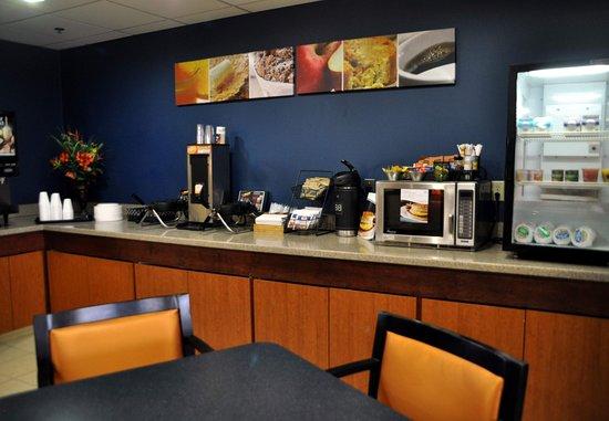 Christiansburg, VA: Breakfast Area