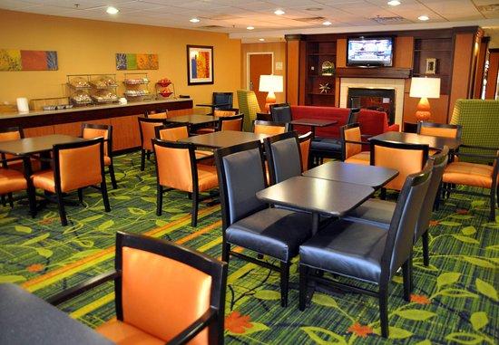 Christiansburg, VA: Breakfast Dining Area