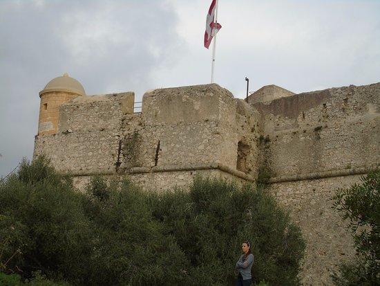 Fort du Mont Alban: drapeau