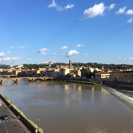The St. Regis Florence: The River Arno from the room