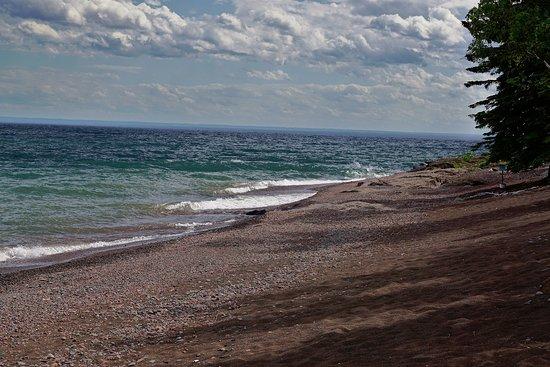Silver Bay, MN: shoreline of Lake Superior