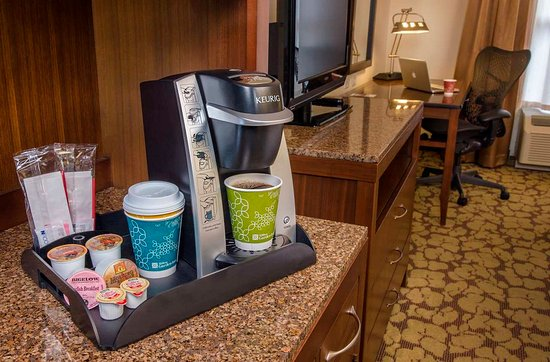 Hilton Garden Inn Laramie: Keurig Guest Room