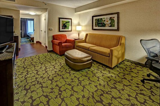Hummelstown, بنسيلفانيا: Suite Living Area