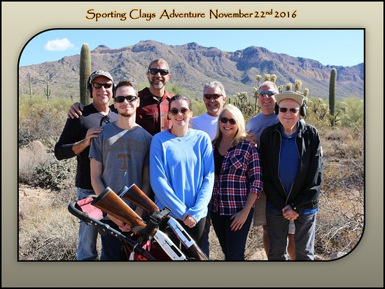 Right On Target Clay Guides of AZ: The Schmick Family Enjoying Their Right On Target Experience!