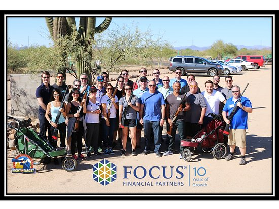 Right On Target Clay Guides of AZ: Congratulations FOCUS Financial Partners on 10 Years of Growth!