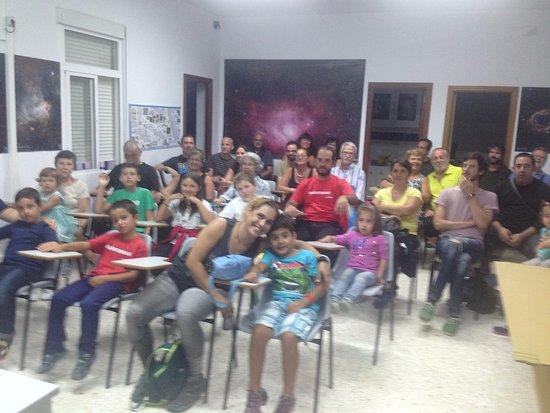 Alcala la Real, Hiszpania: Familias de visita en el OAA