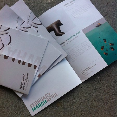 2015/2016 Whangarei Art Museum Exhibition Guide